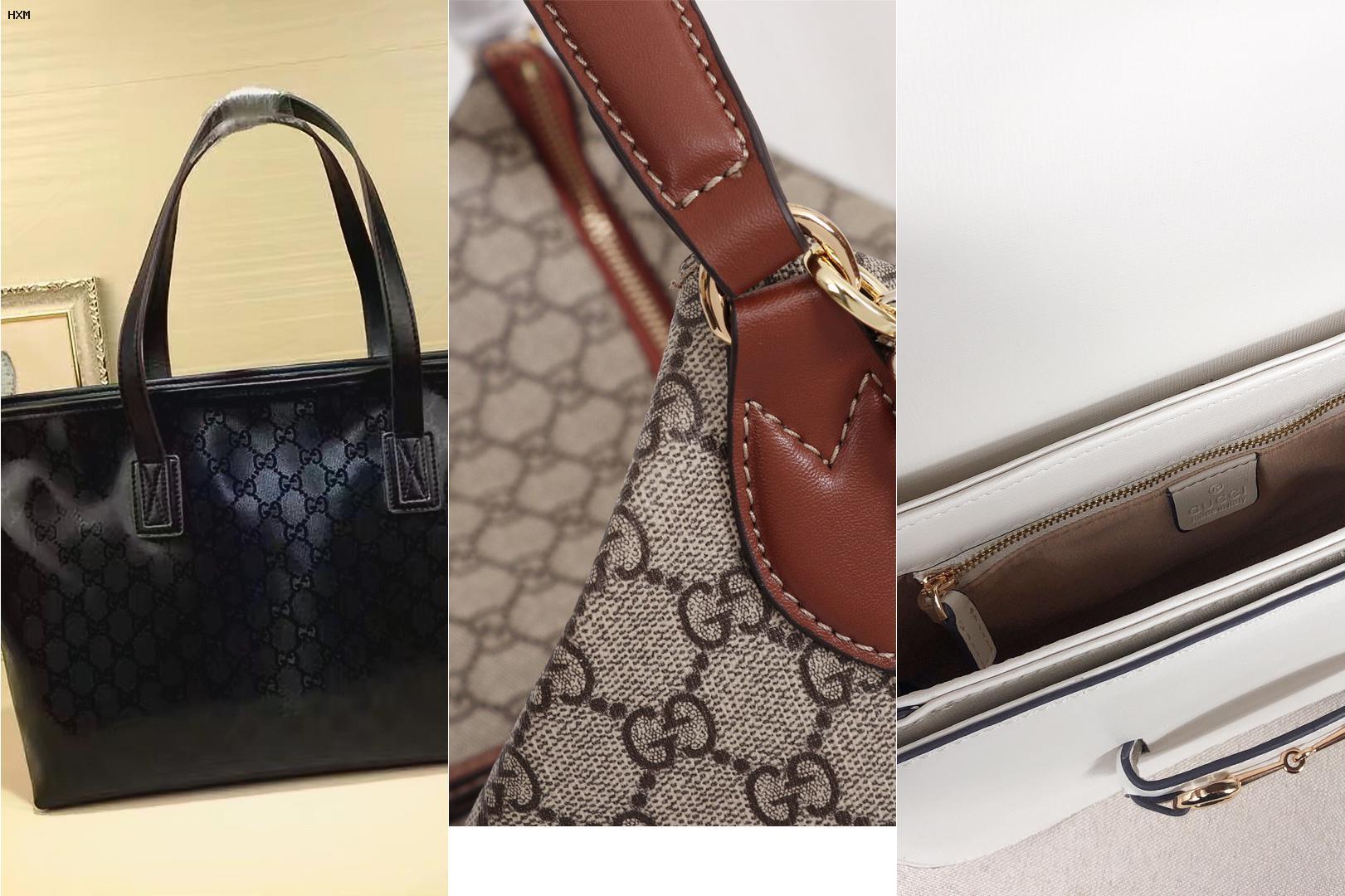 borsa e portafoglio gucci